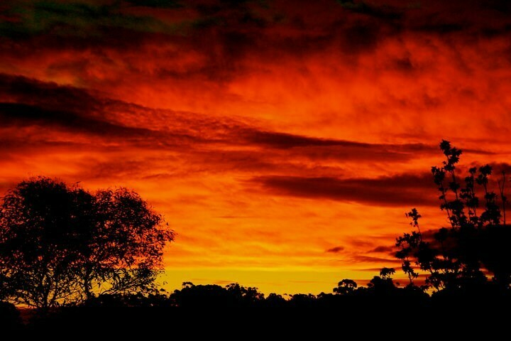 The Most Terrible Photographs Our Contributors Have Ever Taken, mike ashelford, orange sunset