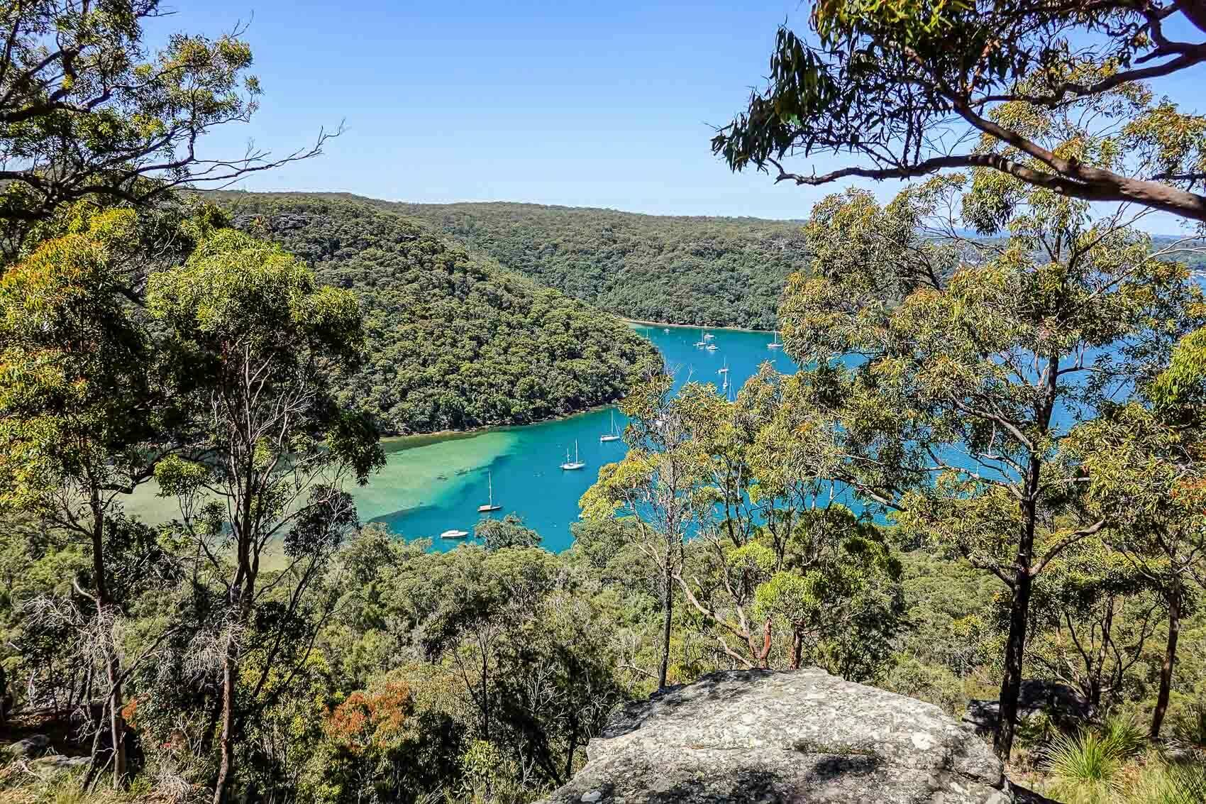 Complete the Towler_s Bay loop for all of the best views of Pittwater, How to find Birnie Lookout on Towler's Bay Trail, ku ring gai national park, dan piggott, travel made me do it, sydney, nsw