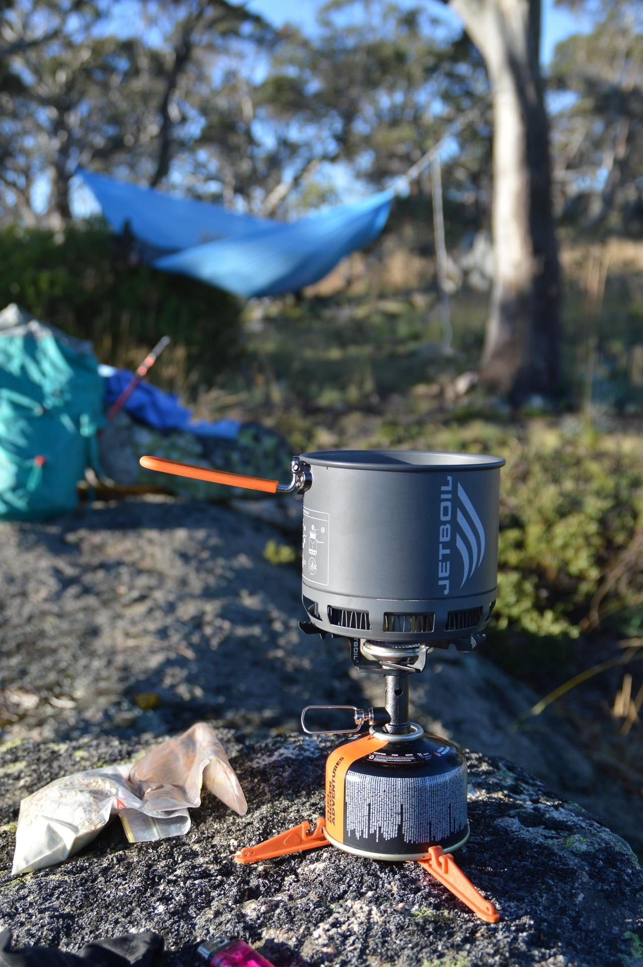 Morning coffee, Fast & Light – A Mt Gingera Overnight Hike in Under 24 Hours, Alice Wisse, ultralight, australian capital territory