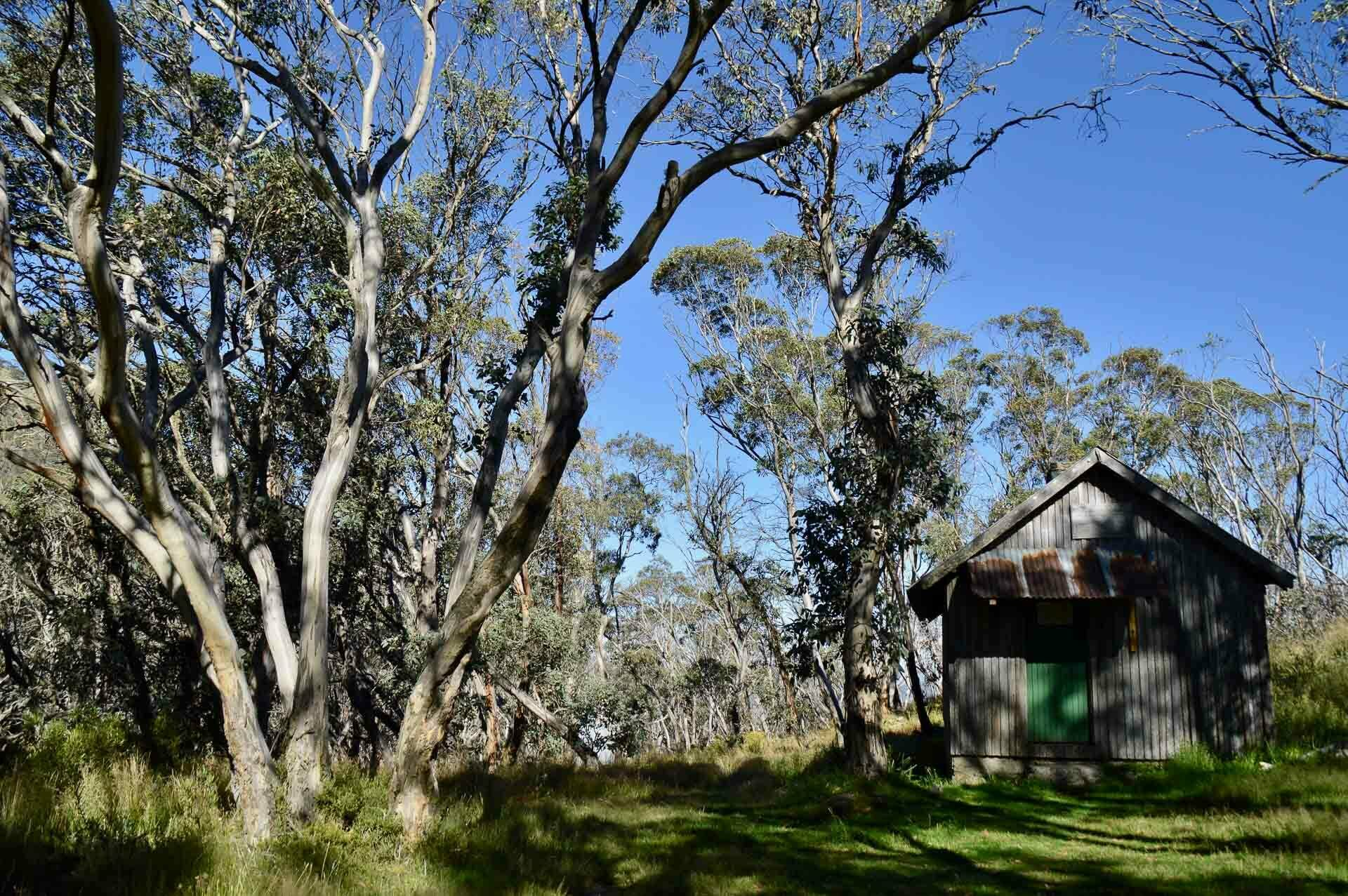 Pryors Hut, where most people camp, Fast & Light – A Mt Gingera Overnight Hike in Under 24 Hours, Alice Wisse, ultralight, australian capital territory