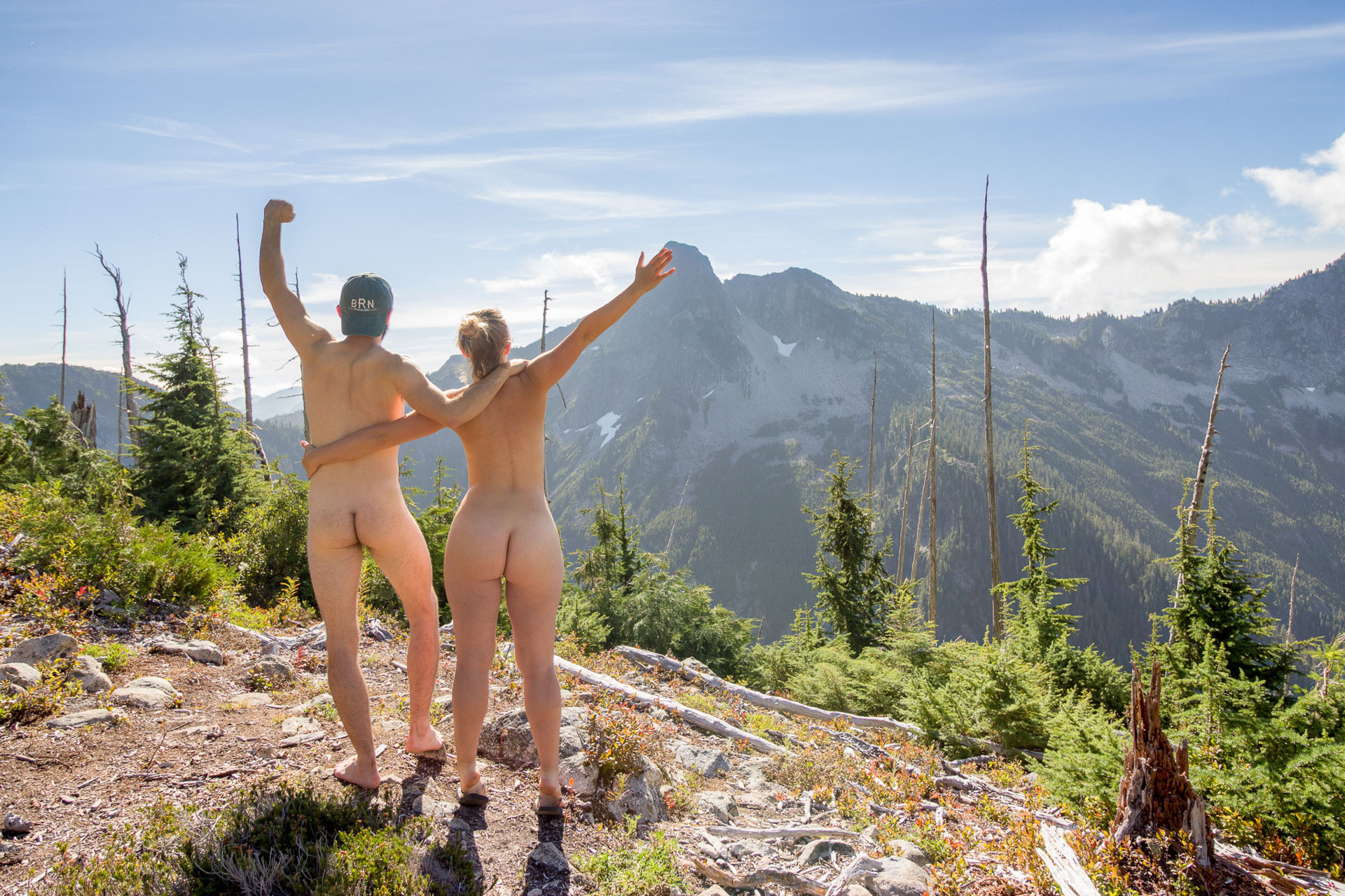 This was the first time we ever got nude in nature, How To Get Nude for Mother Nature (Hint: She's Seen It Before), joe brn Cuzzocrea, nude,