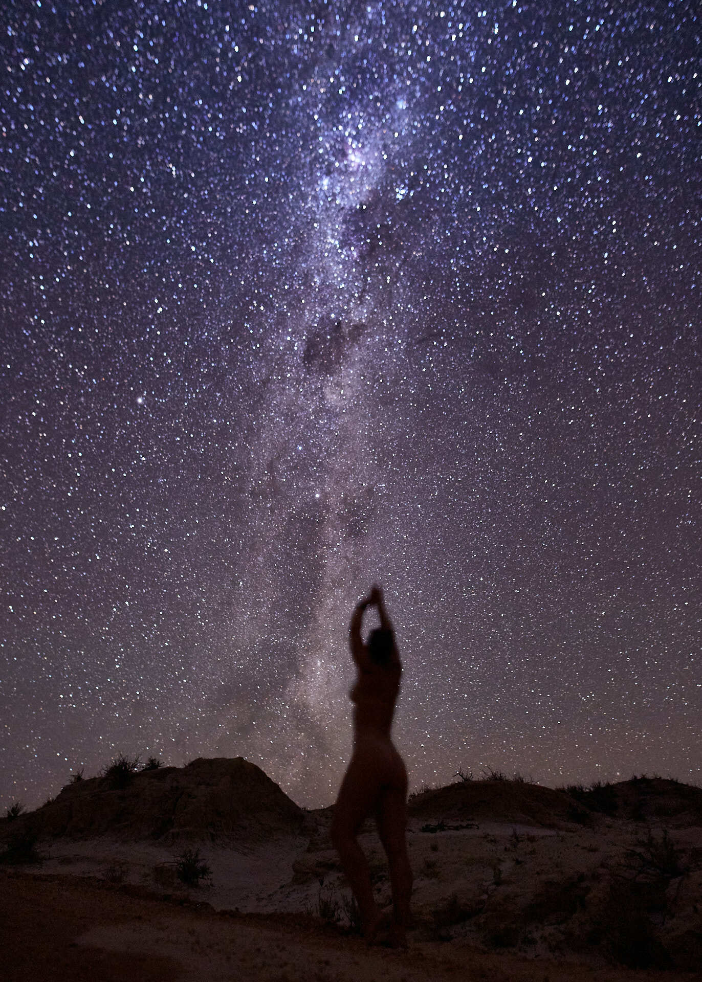 How To Get Nude for Mother Nature (Hint: She's Seen It Before), joe brn Cuzzocrea, nude, astrophotography, milky way