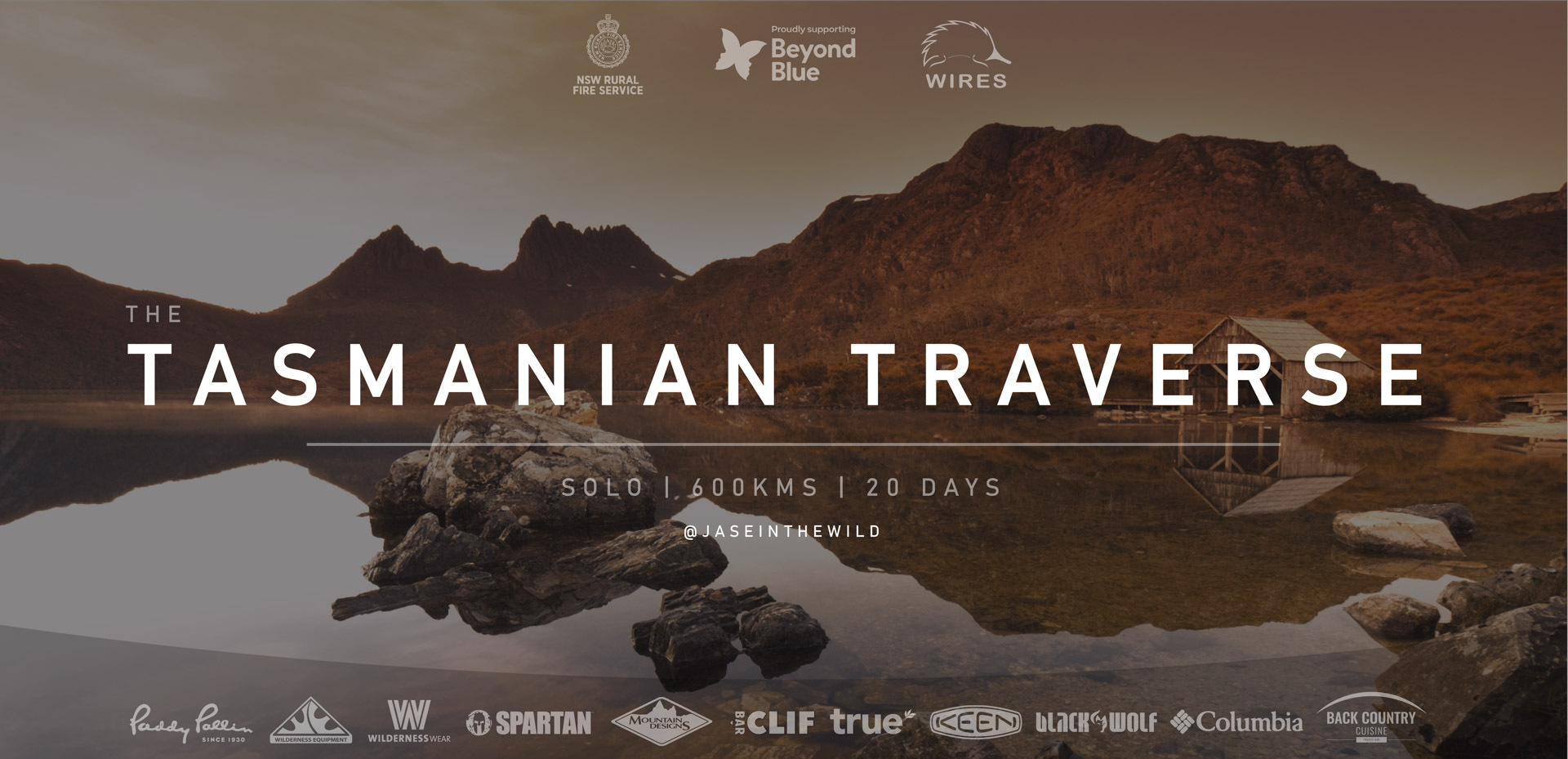 5 Things I Learnt Preparing for a 600km Hike, jason reeve, poster
