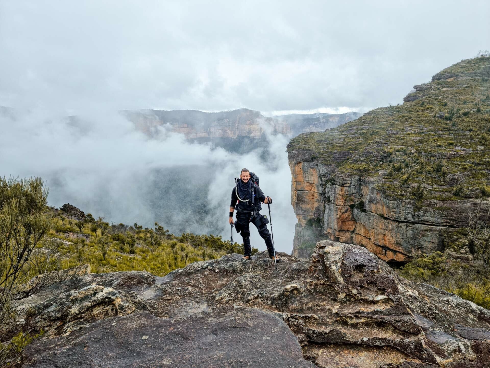 5 Things I Learnt Preparing for a 600km Hike, jason reeve, feature image, blue mountains