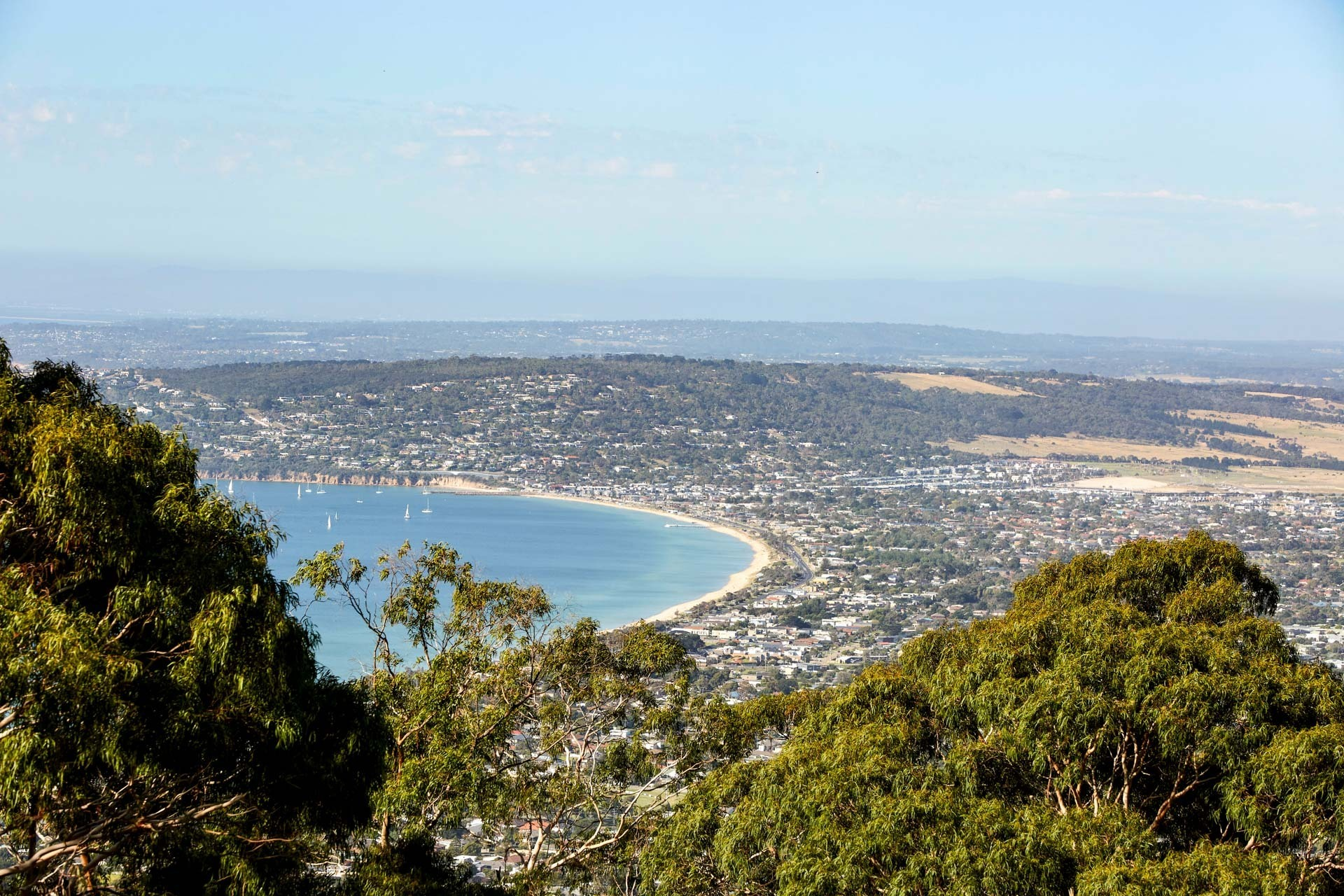 View from Arthurs Seat, Visit Victoria