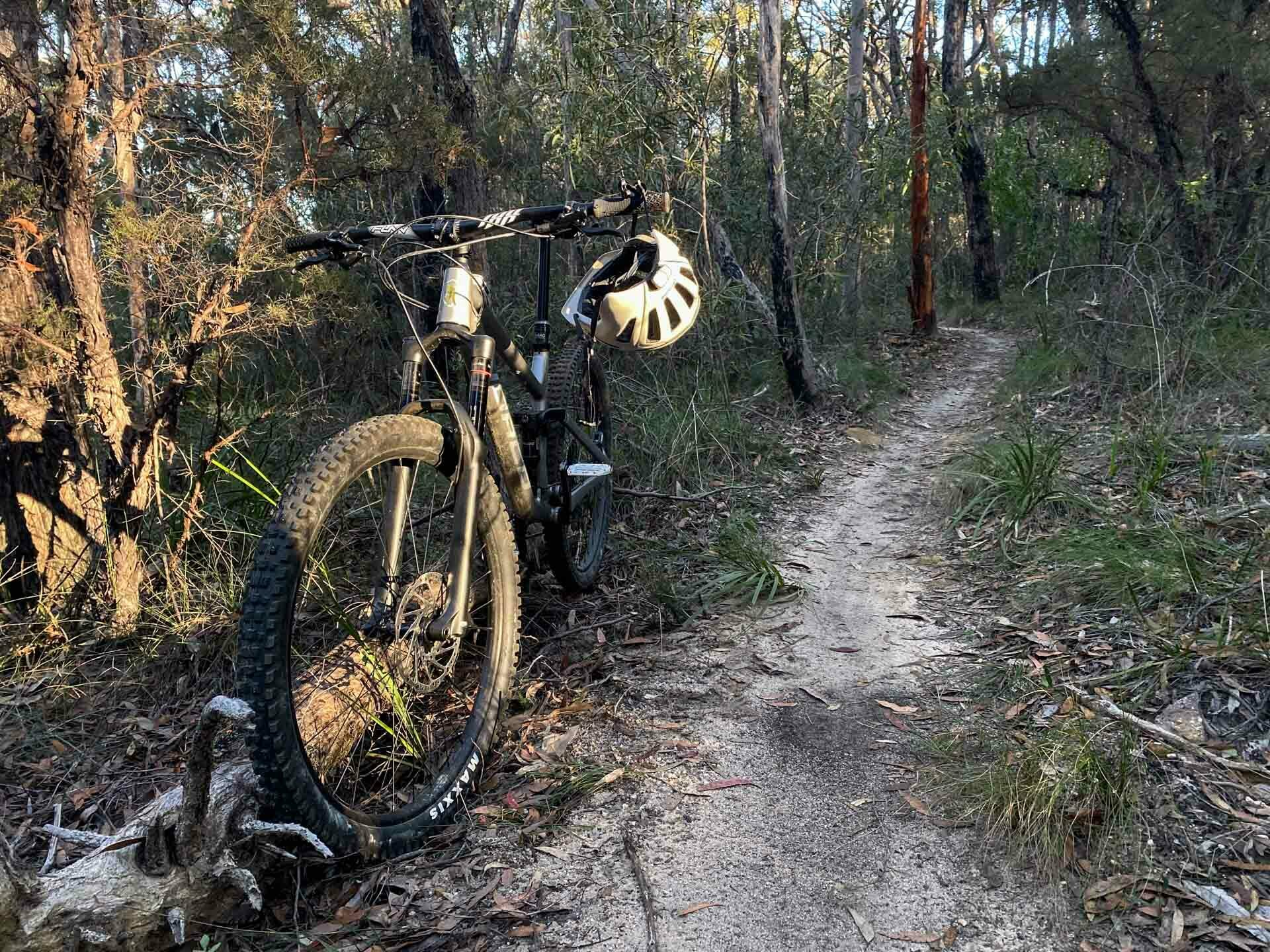Specialized Ambush with ANGi Mountain Bike Helmet – Gear Review, tim ashelford, lawson trails, blue mountains, nsw, norco sight