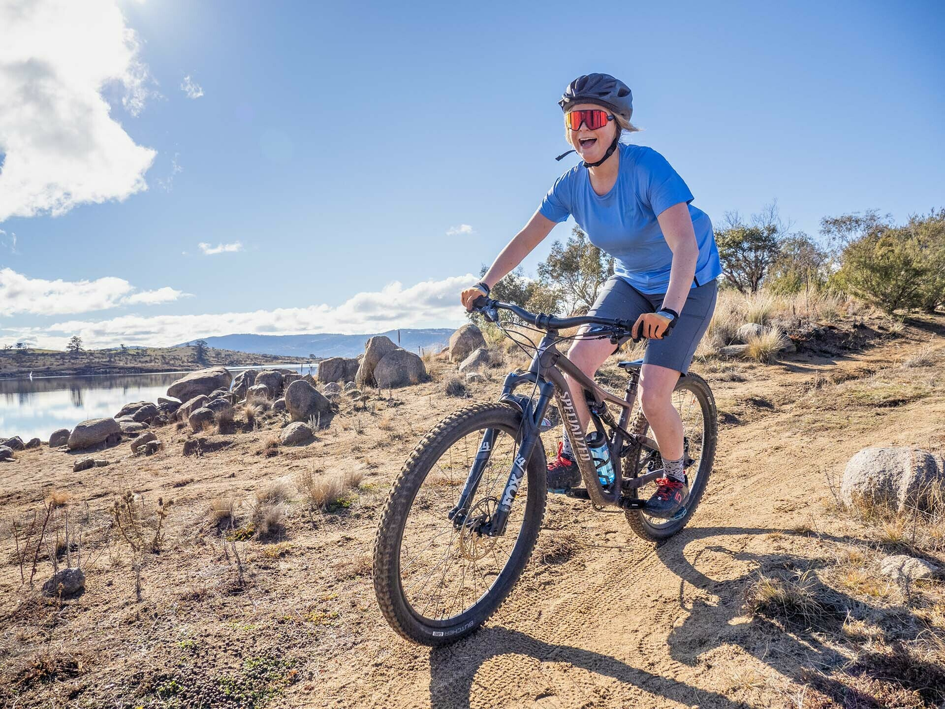 Specialized MTB Apparel Review_Photo by @expedimage_Kate Donald Mountain Biking in Jindabyne