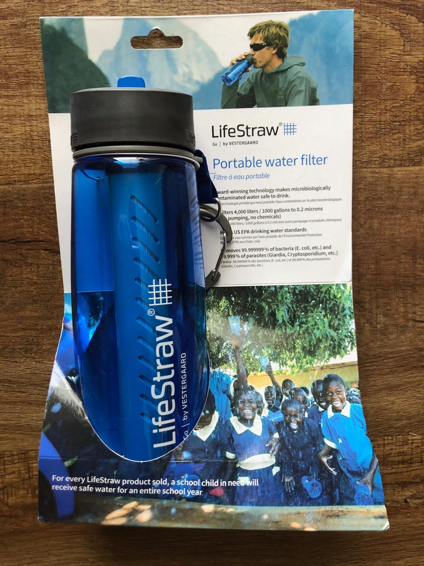LifeStraw Go Water Bottle – Gear Review, andrew boyle, product packaging