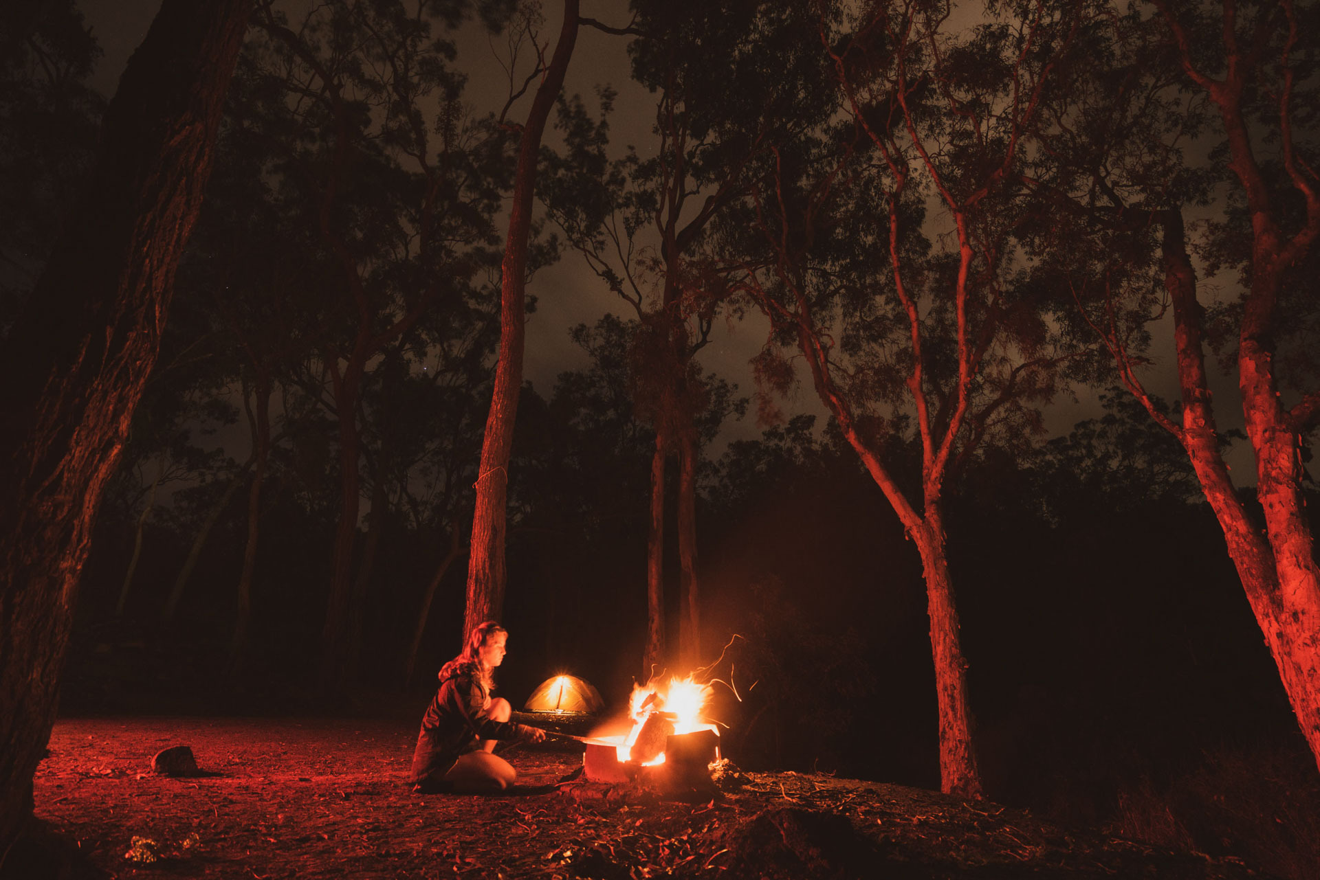 An Infinity Pool, Granite Massif and Bulwai Rock Art – Camping in Davies Creek National Park, mitch cox, ruby claire bisson, campfire, cairns, tropical north queensland