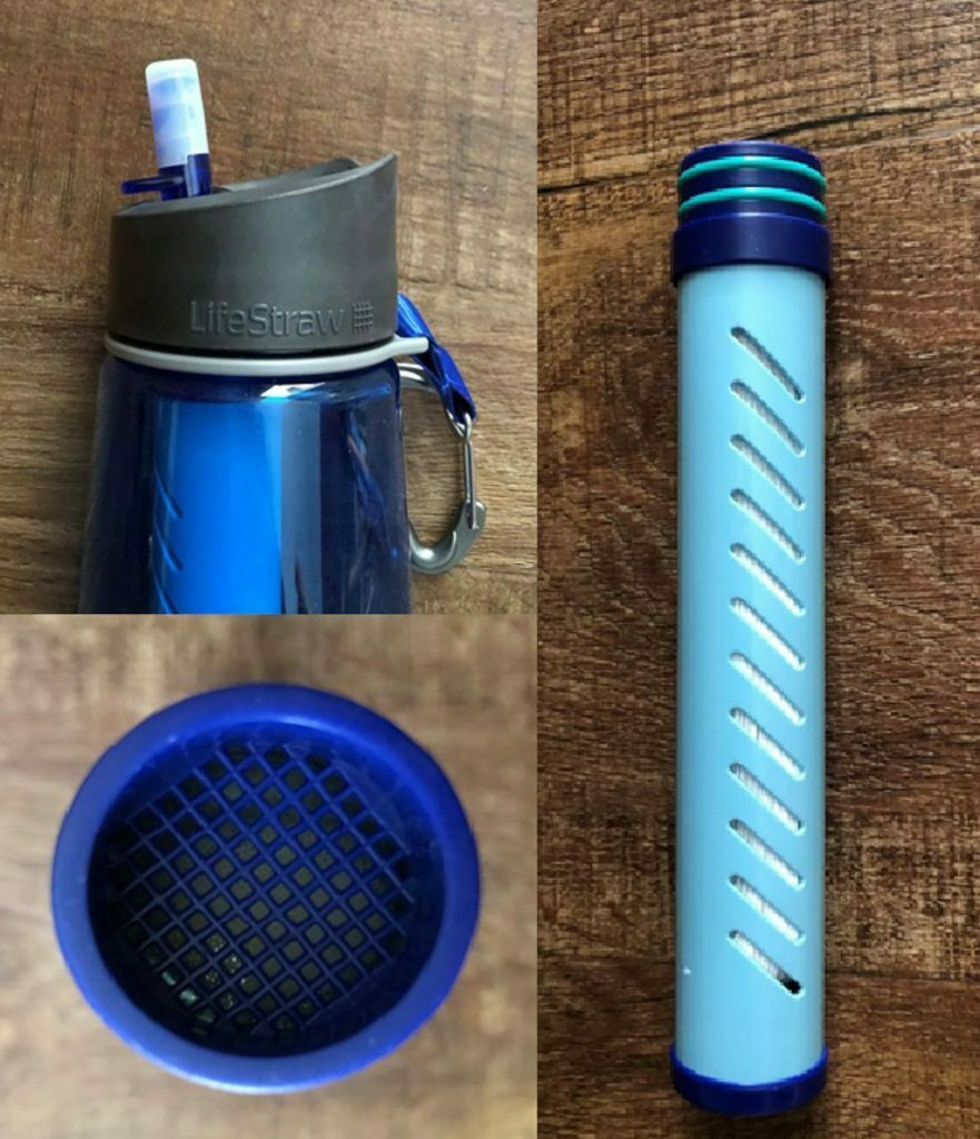 LifeStraw Go Water Bottle – Gear Review, andrew boyle, collage