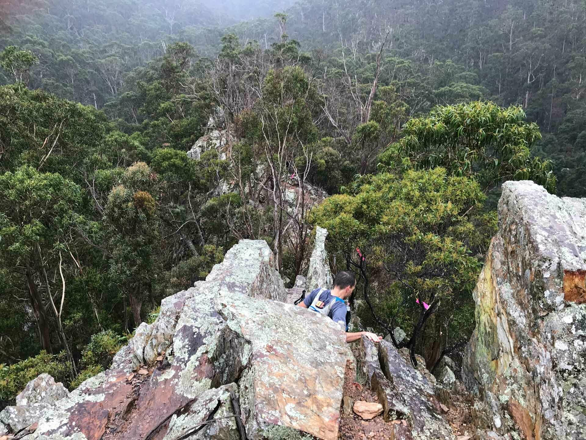 One of the Gnarliest Races in the Southern Hemisphere Can Be Found Just Out of Melbourne, photo by the Eventurers, Tom Dade, running, ultrarunning, rough route
