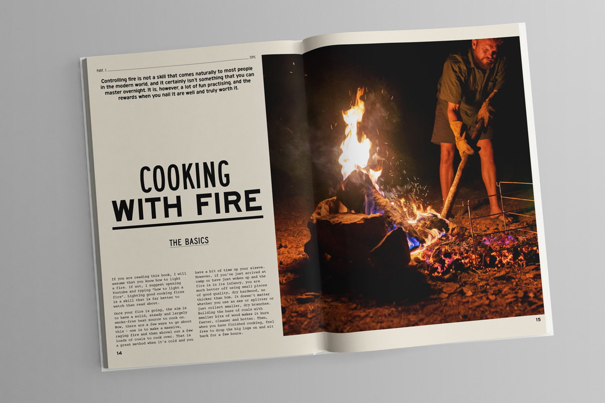 Fire to Fork cookbook