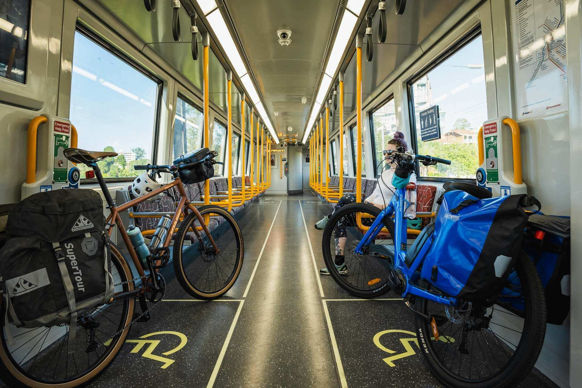 Beers, bakeries and barely any uphill? Cycling the 161km Brisbane Valley Rail Trail - Lachlan Gardiner: Cycling, QLD, train