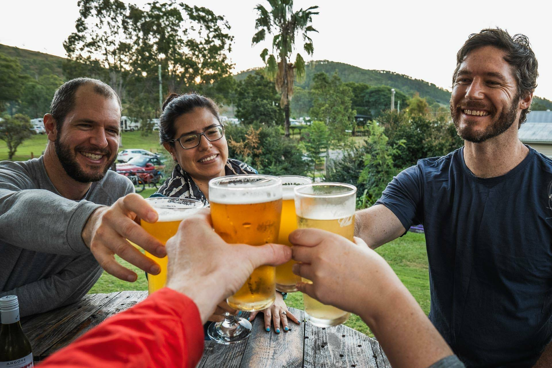 Beers, bakeries and barely any uphill? Cycling the 161km Brisbane Valley Rail Trail - Lachlan Gardiner: beer, food, QLD, BVRT