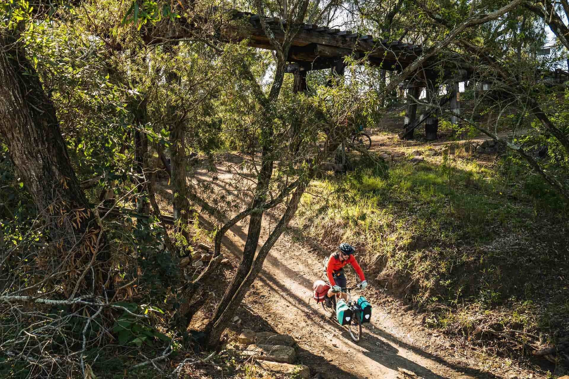 Beers, bakeries and barely any uphill? Cycling the 161km Brisbane Valley Rail Trail - Lachlan Gardiner: Cycling, QLD, BVRT, cycling
