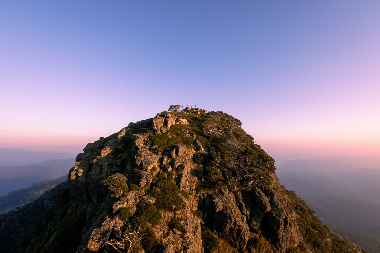 5 Hikes to Tackle Around Wangaratta (And Where to Get a Brew Afterwards), Henry Brydon, Mt Cobbler, summit, sunrise, mountain, hike