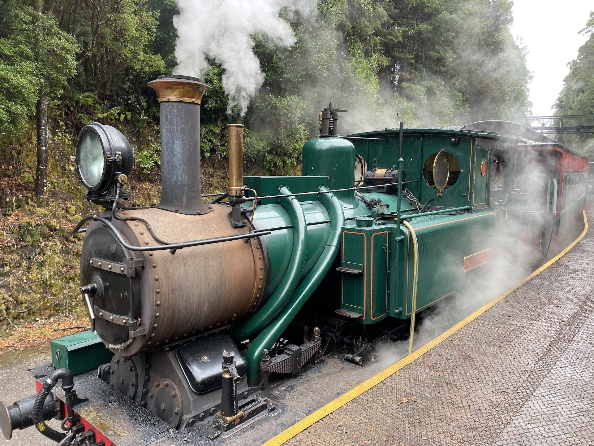 How To Travel Tasmania With Your Adventure Family - Sarah Tayler, Tasmania, Queenstown, Train,