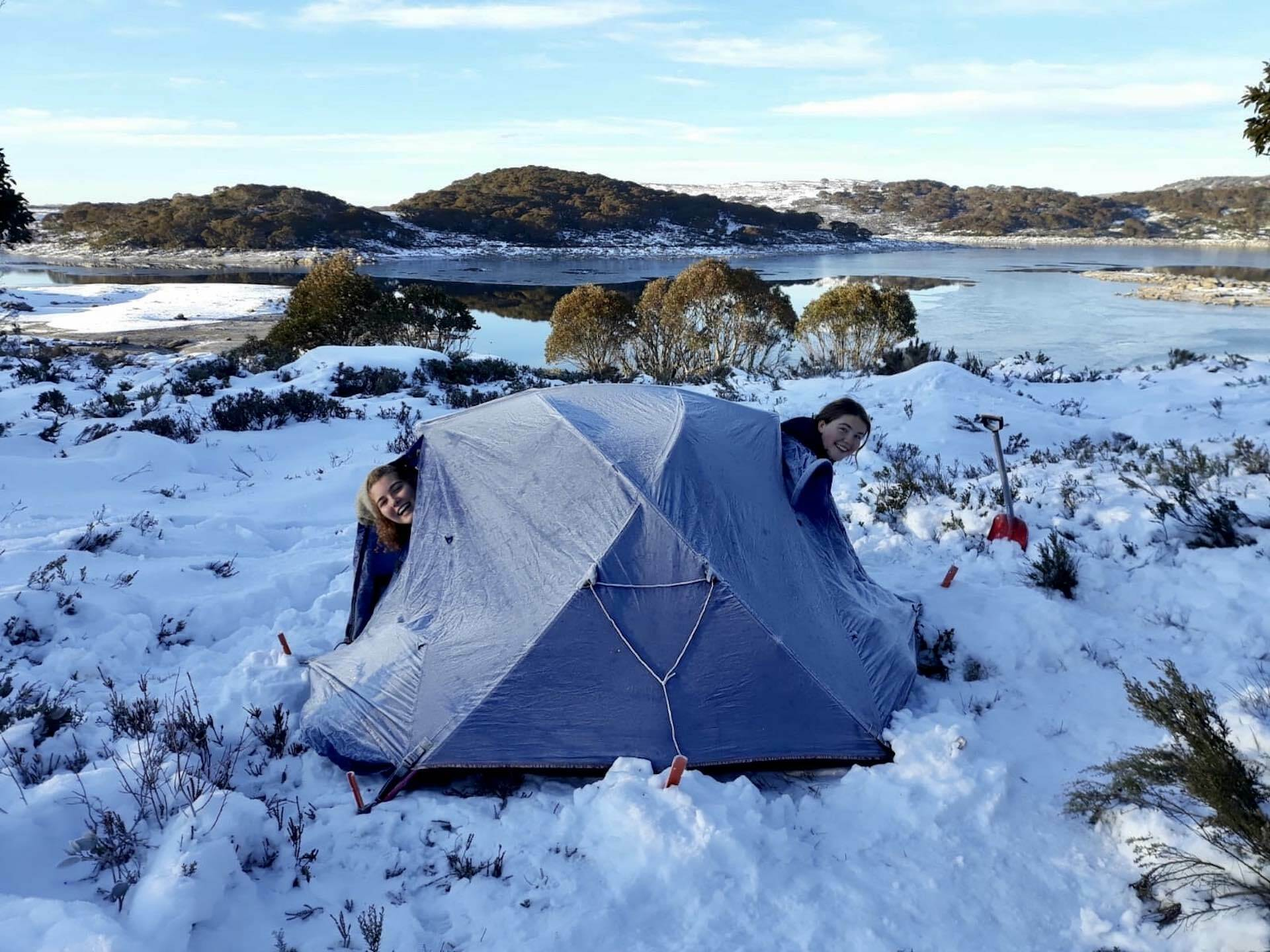 Best Places in Victoria for Your First Snow Camping Trip - Ruby Mangelsdorf, snow hiking, skiing, snow