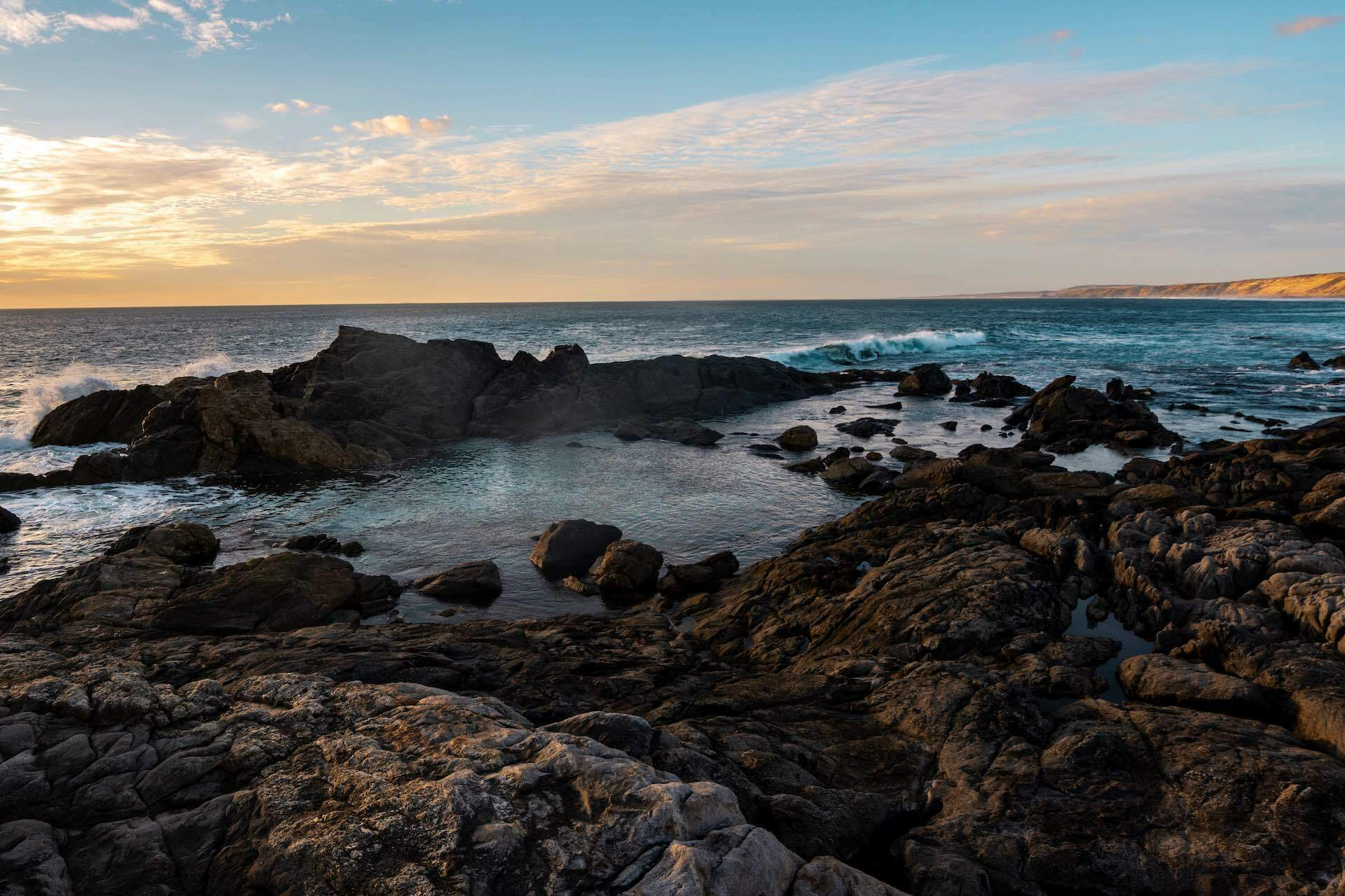 The Eyre Peninsula Will Let You Feel Like the Only Person on Earth - Jayden ONeil, Greenly Beach, Rockpools, Eyre Pennisula