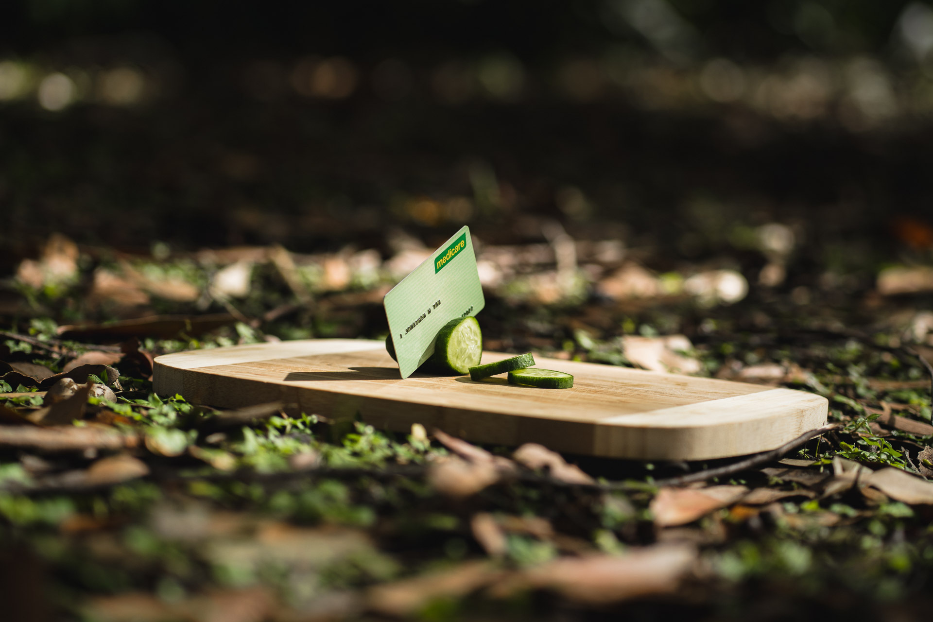 20 Outdoor Hacks We Bet Your Aren't Using, photo by Jono Tan, medicare card cutlery