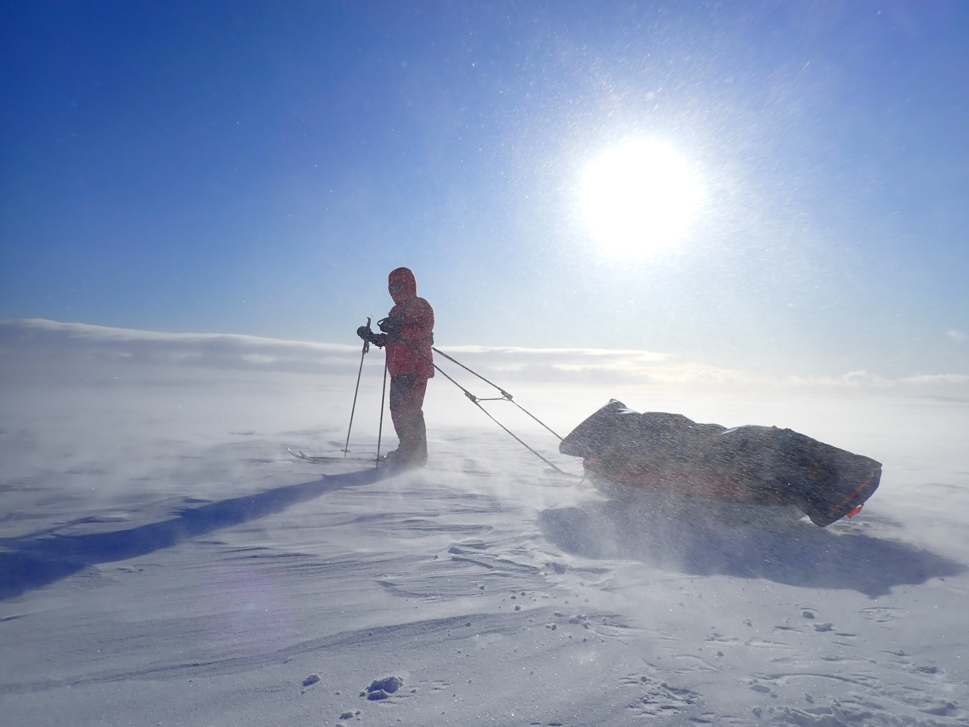 Has Lockdown Stolen Your Love of Adventure? Here's How To Get It Back, brooke nolan, finnmark plateau, cross country skiing, expedition, badass, snow, ice, northern hemisphere